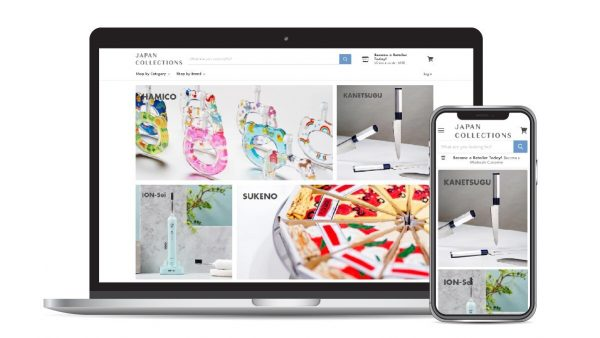 Actus 卸売ECサイトが新しくなりました!JAPAN COLLECTIONSのご紹介